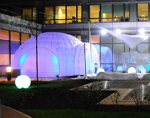 Comment améliorer mon évènement à l'aide d'une structure gonflable ?